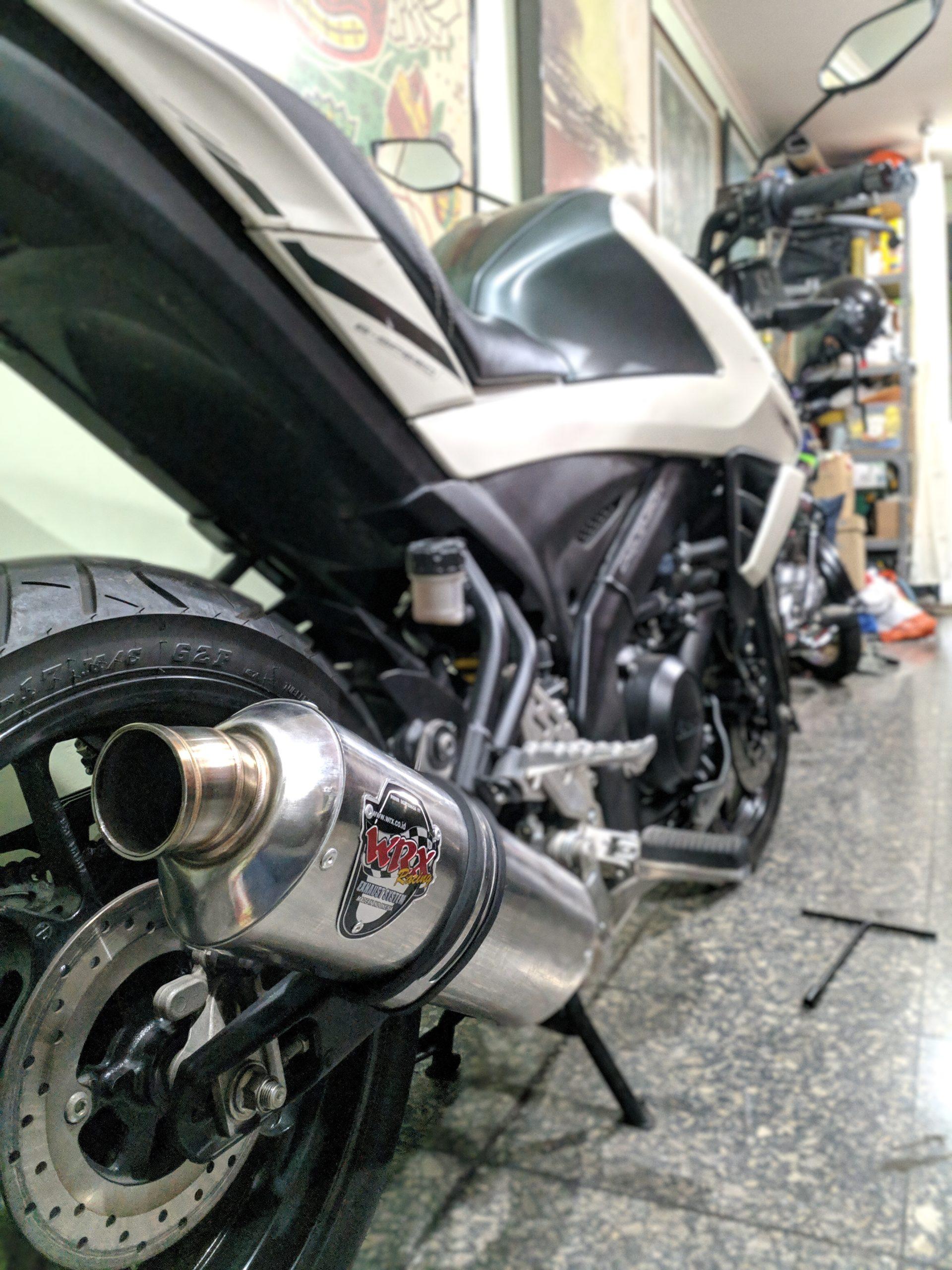 Install WRX GP3 K3 Vixion R