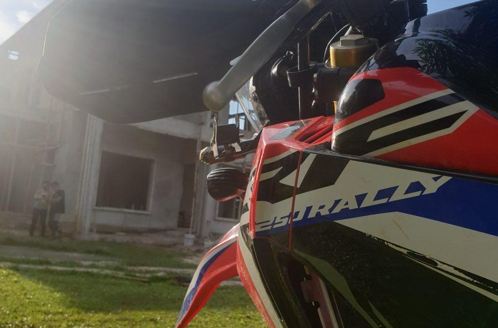 Honda CRF 250 Rally, Motor Dual Purpose yang asik dipakai harian!