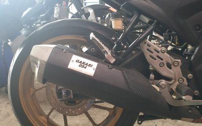 Upgrade Knalpot Yamaha R15 V3 / Vixion R / MT15 anti tilang