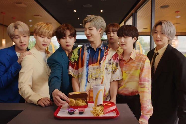 Kuat nya Brand BTS, membuat BTS Meal Langsung Viral dalam 1 hari!